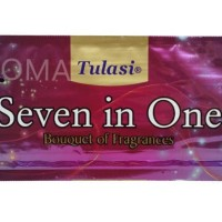 Dupa India (Aromaterapi) Pouch Plastic - Tulasi Seven in One 35 Sticks