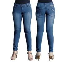 Celana Panjang Denim Kasual Wanita - RNU 022