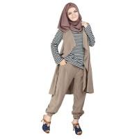 Gamis Long Dress Busana Muslim Wanita Tanpa Kerudung - RNY 124