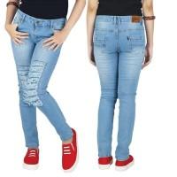 Celana Panjang Denim Kasual Wanita - RNU 117