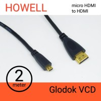 Kabel HDMI to Micro HDMI Howell 2m