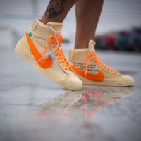 Sepatu Nike Blazer Off White Spooky Pack Orange