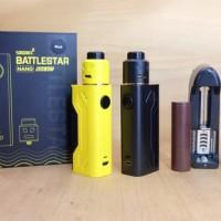 Harga paket ngebul authentic mod battlestar nano kit rda lg charger | antitipu.com
