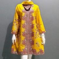 Tunik Atasan Batik Blouse Dress Batik Wanita
