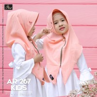 Hijab Arrafi AR 267 Kids Matt Diamond P [ORI] - Black
