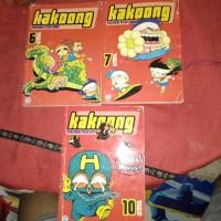 komik Kakoong ; 6,7,10.