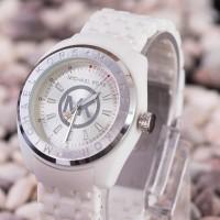 jam tangan wanita michael kros warna putih