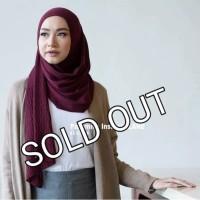 Pashmina Jilbab Hijab Instant Rajut FLANE by Aleyda Hijab Original