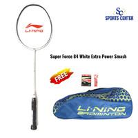 NEW Raket Badminton Lining Super Force 84 / SF 84 / SF84 White FULLSET
