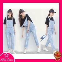 Overall Jeans Wanita - Baju Jumpsuit Jeans