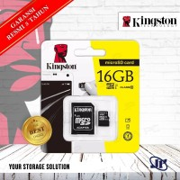 Kingston MicroSDHC UHS 1 16GB Class 10 16 GB Memory Micro SD