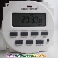 sinotimer digital timer detik menit jam day AC 220v dan countdown mode