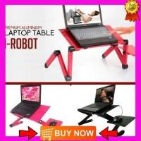 Meja Laptop acc laptop meja kerja lipat perlengkapan laptop
