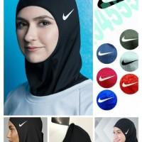 Hijab Kerudung Nike Sporty 1234