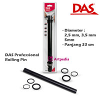 DAS Professional Rolling Pin - Das Modelling Tools (COD.348000)