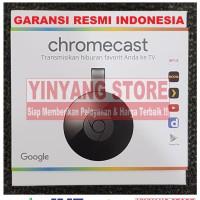Jual Official Google Chromecast 2 HDMI Streaming - 1 Tahun Garansi Resmi Murah