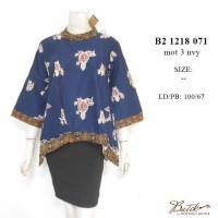 blus batik B21218071   blus kerja   baju batik   jual batik   atasan cf10590743