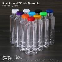 Botol Almond 250 ml / Botol Plastik Almond - Ekonomis