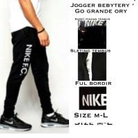 Harga jogger nike hitam sweatpants training celana olahraga | antitipu.com
