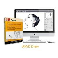 Software Menggambar Editing Foto Gambar Sketsa AKVIS DRAW Macbook