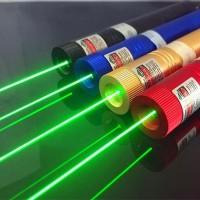 Green Laser Lampu Led / Green Laser Pointer 303 - Hitam