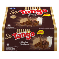 WAFER SO TANGO BELGIAN CHOCOLATE 38GR [1 BOX ISI 12PCS] - FS