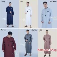 Gamis Pria Naylul JB024 / Jubah Pria Muslim / Baju Kemeja Koko Modern