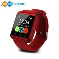 Smartwatch Bluetooth Bahan Silikon untuk Android / IOS iPhone