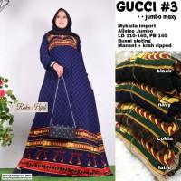 baju wanita gamis gucci#3 jumbo muslim modern modis lucu unik