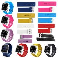 Ie Strap Pengganti Bahan Silikon Lembut Untuk Smartwatch Fitbit Blaze