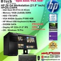 HP Z6 G4 Workstation - HPQ5LU36PA Xeon W-4112/16GB/1TB/VGA 4GB/W10PRO