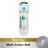 Sensodyne Sikat Gigi Sensitif Multi Action Soft 2s