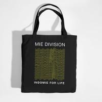 INDOMIE TOTE BAG MIE DIVISION - BLACK