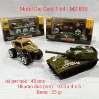 Diecast MZ-830 Tank Military Army Mobil Militer Mainan Anak Die Cast