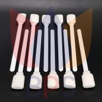 Solvent Grade Short Cleaning Cotton Swab / Stick Pembersih Pendek 13cm