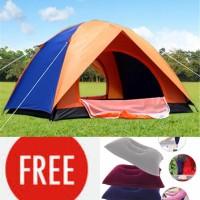 Tenda Dome Kapasitas 4-5 Orang Warna Ultralight Berat 2kg