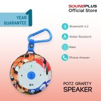 Soundplus - Potz Grafity | Portable Speaker Bluetooth Murah Promo Lucu