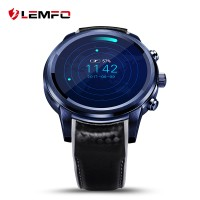 LEMFO LEM5 Pro Bluetooth Smartwatch Sporty SIM Card Android - Black