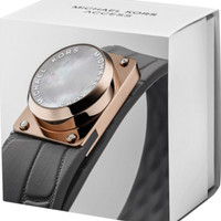 Michael Kors Rose Gold & Gray Silicone Tracker