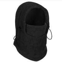 Masker kepala tahan angin topi bulu hangat motor salju dingin - FCG059