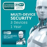 ESET Multi Device Security 3 Devices New 1 Year