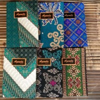 Buku AGENDA Batik Exclusive Polos