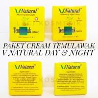 Unik Set Cream Temulawak V Natural BPOM [ day+night ] Limited