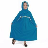 Baju Muslim Gamis Anak Perempuan || Warna Biru Muda