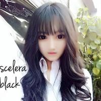 Sclera Black (Hitam) Softlens Diameter Paling Besar 23mm