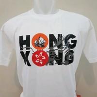 Kaos Souvenir Hongkong