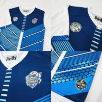 Jersey Bola dan Futsal, Ready Stock Blue Vector
