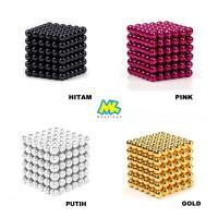 Color Magnetic Ball / Bola Magnet warna 3 mm 216pcs