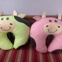 Dialogue Nursing pillow bantal menyusui baby sofa milky series - pink