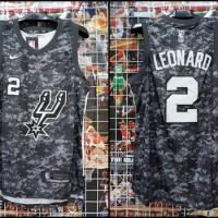 JERSEY BASKET NBA SWINGMAN SPURS LEONARD 0c34b385a